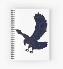 Hand drawn Eagle Spiral Notebook