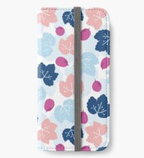 Grape leaves iPhone Wallet/Case/Skin