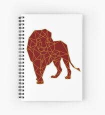 Hand drawn Lion Spiral Notebook