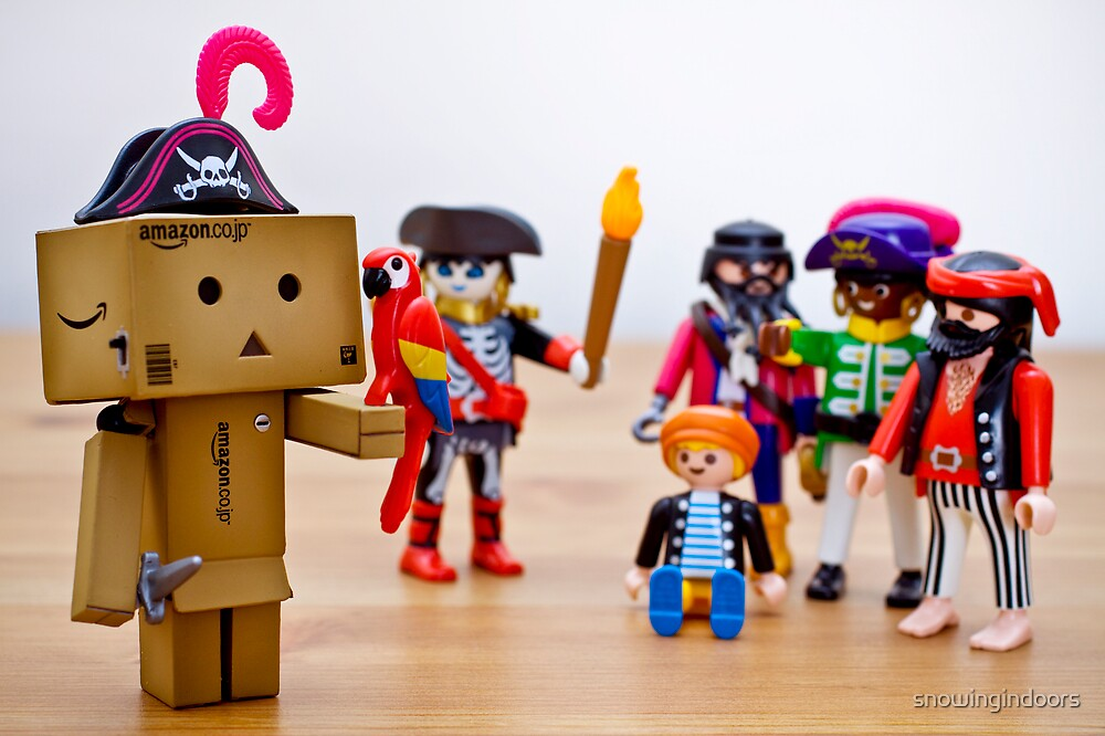 danbo the unconvincing pirate by snowingindoors