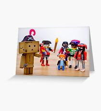 danbo the unconvincing pirate Greeting Card