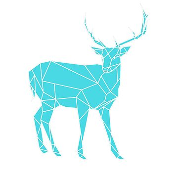 Hand drawn Stag by OKDave