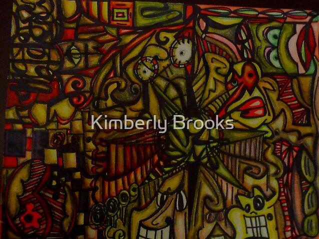 Raging Sunset by Kimberly Brooks