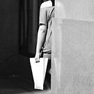 Girl on Corner by Roger Smith