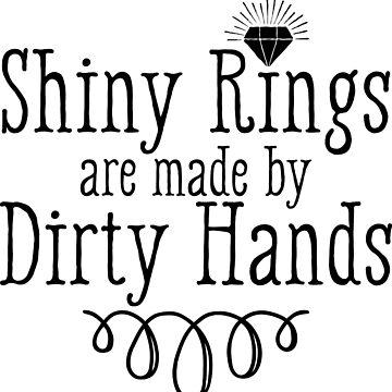 shiny rings silversmith dirty job by Zand