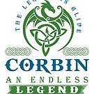 Legend T-shirt - Legend Shirt - Legend Tee - CORBIN An Endless Legend by wantneedlove