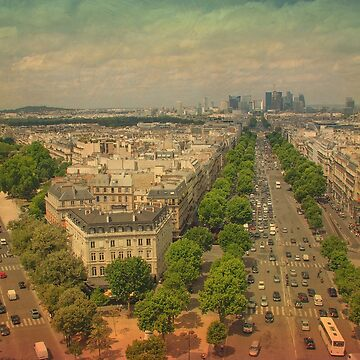 Champs Elysees, Paris by ibphotos