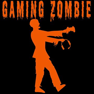 Funny Gaming Zombie by Huschild