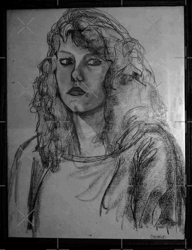 Self-Portrait by Linda Costello Hinchey
