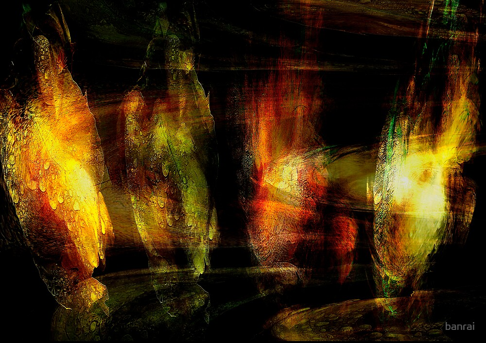 life evolving transition... iris flora by banrai