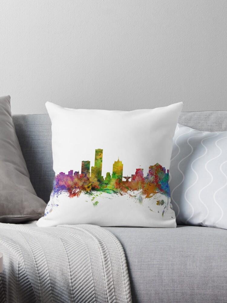 «Milwaukee Wisconsin Skyline» de Michael Tompsett