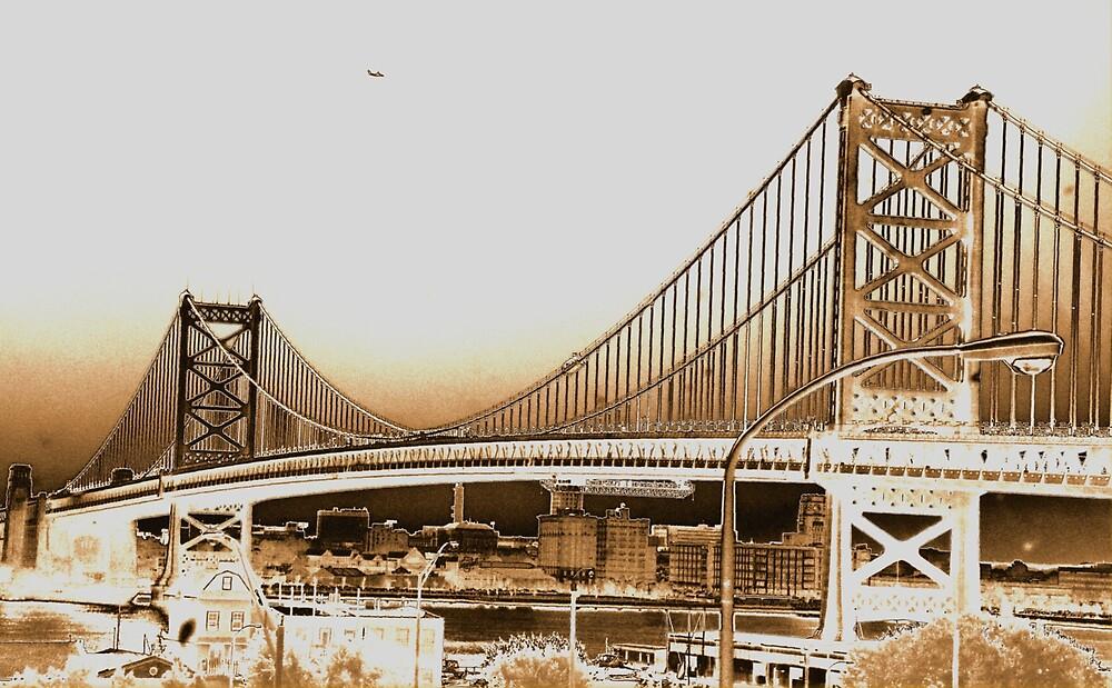 Golden bridge. by BlikART