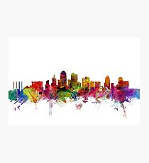 Kansas City Skyline Photographic Print
