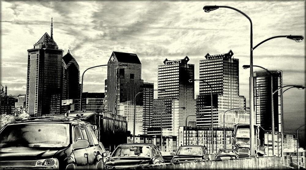 Downtown Philadelphia by BlikART