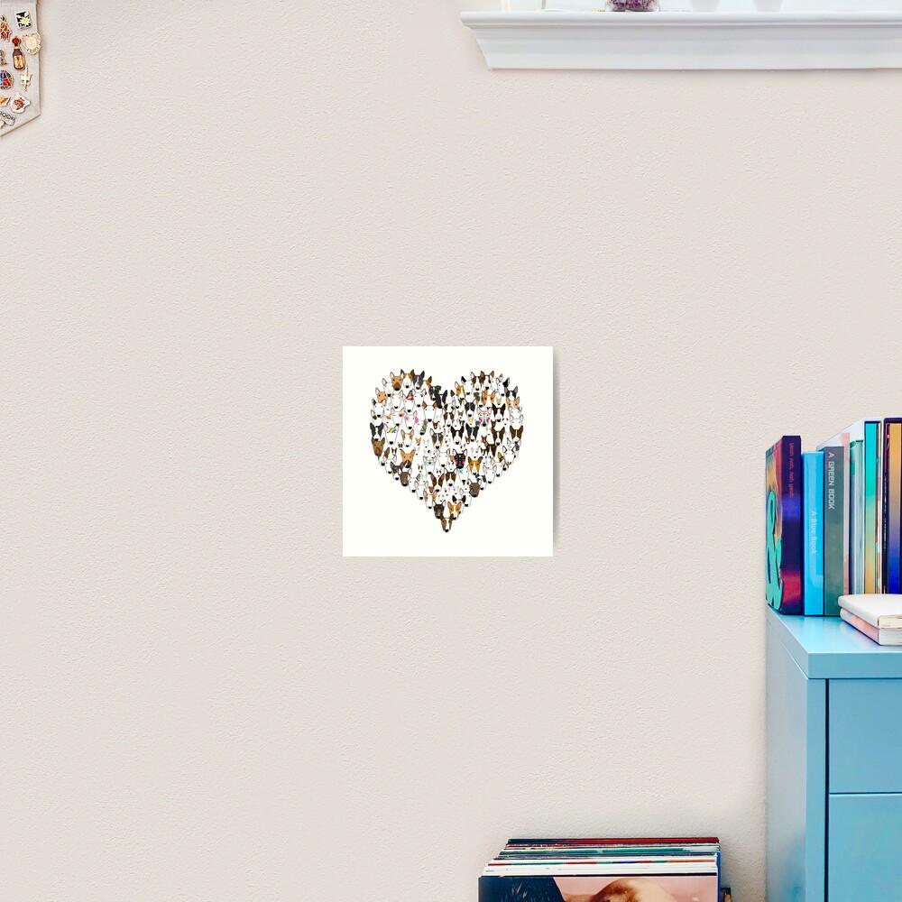 Bully Love Art Print