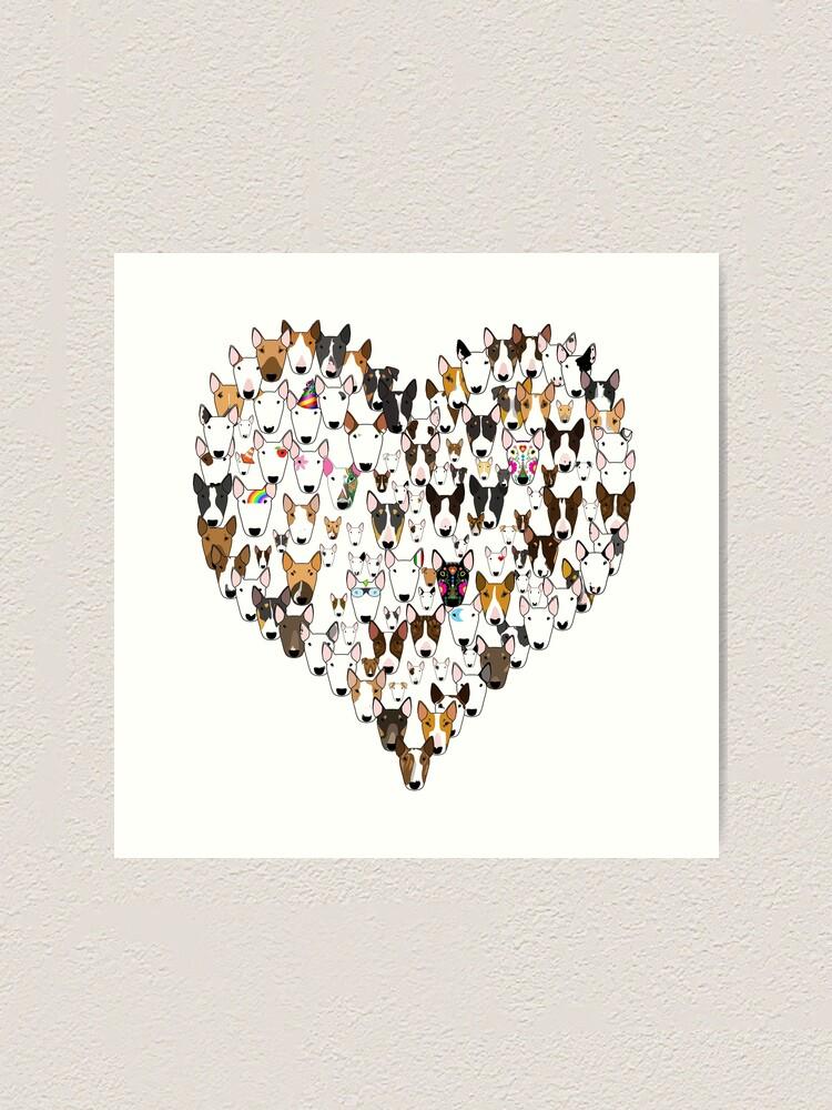 Alternate view of Bully Love Art Print