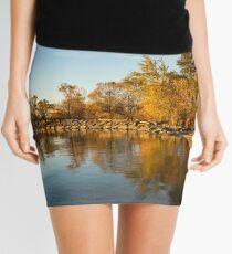 Autumn Morning Silk -  Mini Skirt