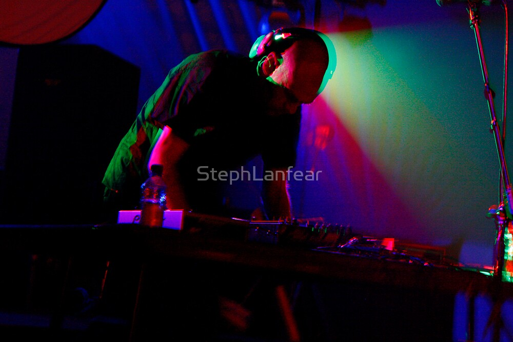 Multi-Coloured DJ by StephLanfear