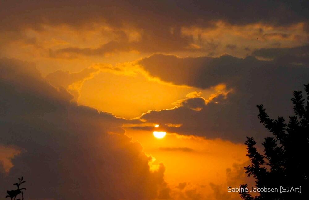 Orange Sky by Sabine Jacobsen [SJArt]