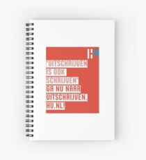 Uitschrijven.hu.nl Spiral Notebook