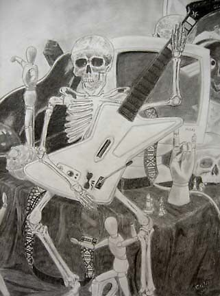 Death Rock by Rik Kent