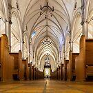 St. Basil's Catholic Church 2 by John Velocci