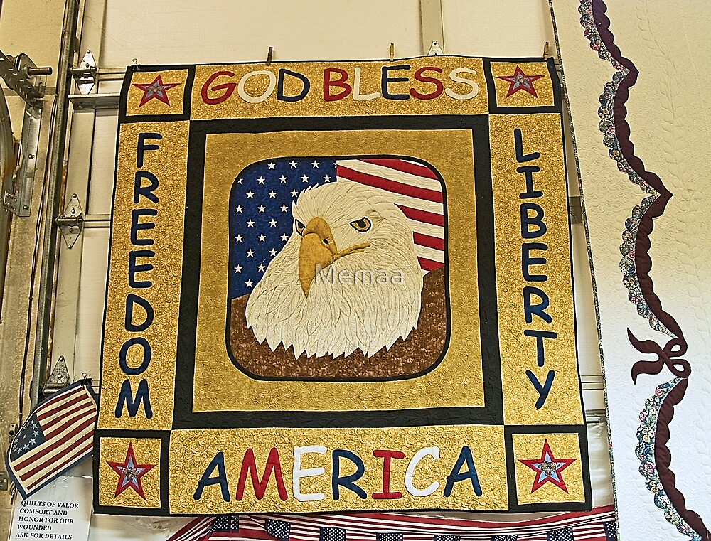 """""""Quilits of Valor""""  Quilts Given to U.S. Servicemen  by Memaa"""