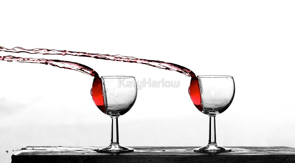 Wine Flow by KatyHarlow