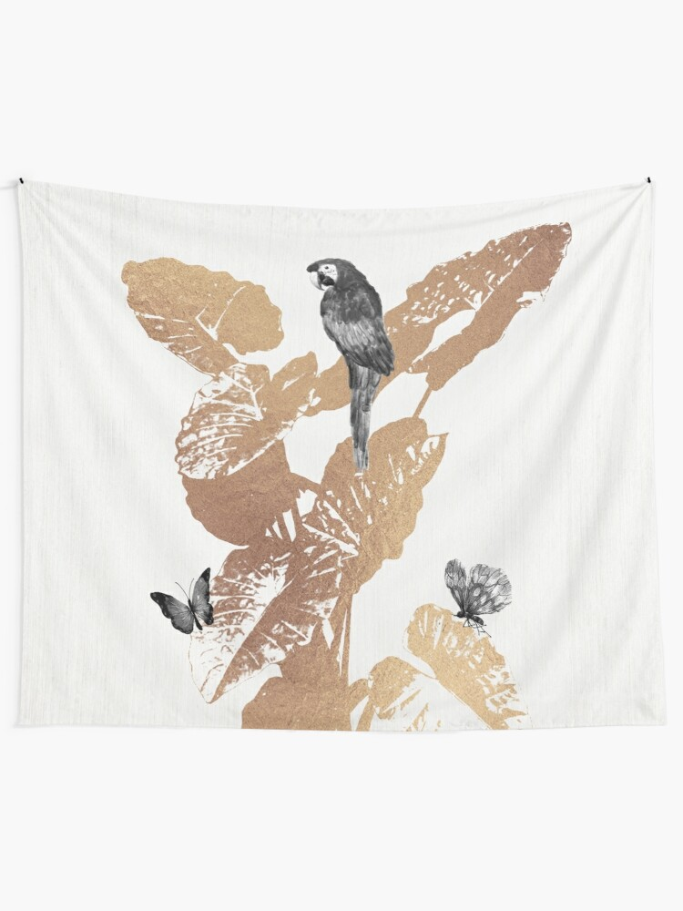 Alternate view of Fluttering Nature II Tapestry