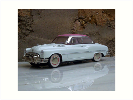 Tin plate model coupe. by John  Smith