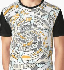 Flying cats Graphic T-Shirt