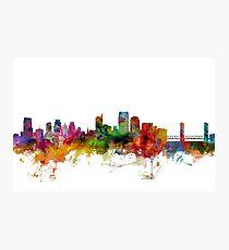 Sacramento California Skyline Photographic Print