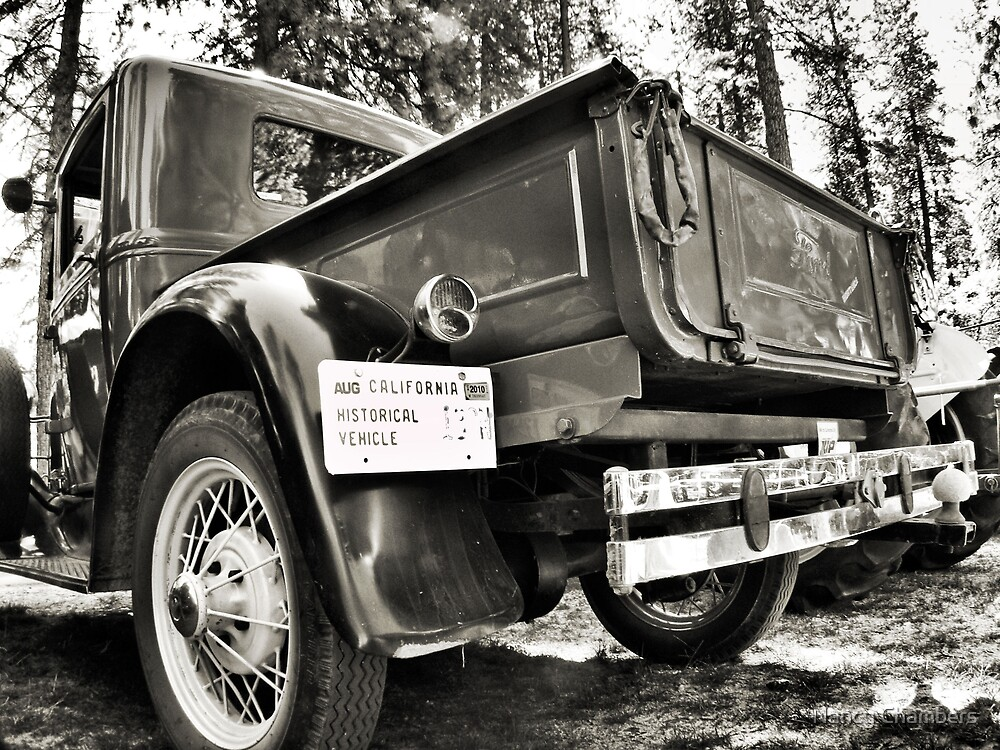 Old Ford Truck  by NancyC