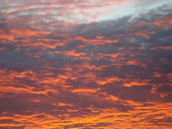 Summer's Eve Sunset - Boston Lincolnshire UK by niki2028