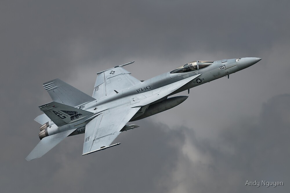 Super Hornet Photo Pass by Andy Nguyen