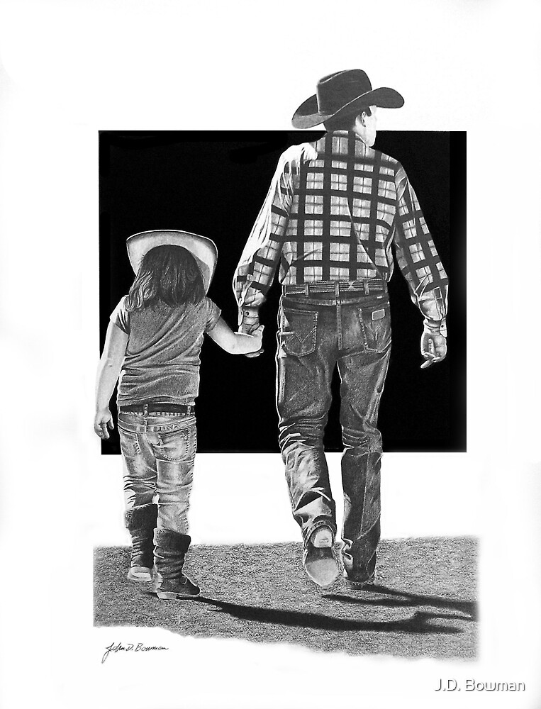 Together at the Rodeo by J.D. Bowman