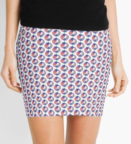 Cape Verdean American Multinational Patriot Flag Series Mini Skirt