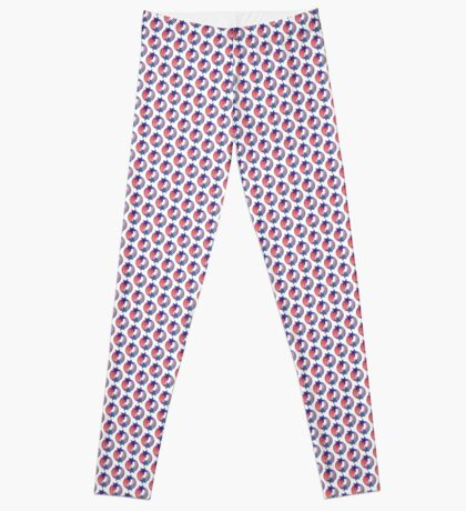 Cape Verdean American Multinational Patriot Flag Series Leggings