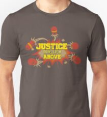 Justice rains from above-pharah Unisex T-Shirt
