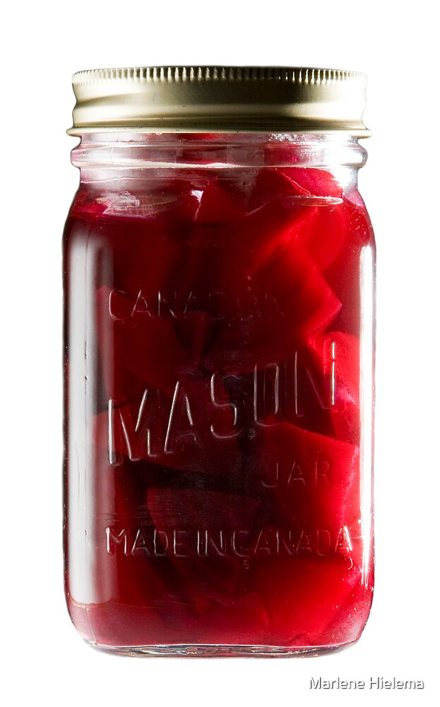 Jar of Beets by Marlene Hielema