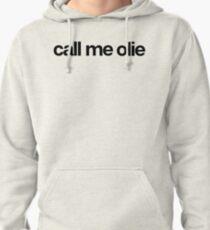 Appelez-moi Olie - Cool Stickers personnalisés Sweat à capuche