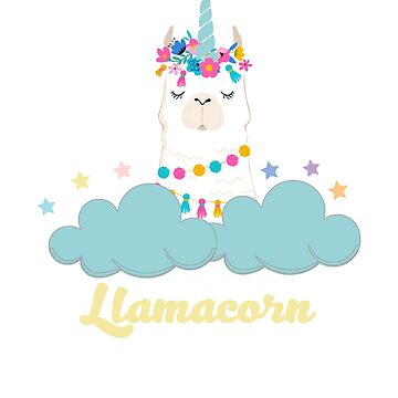 Llamacorn Unillama Design by JuditR