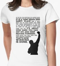 Rocky Motivation Women's Fitted T-Shirt