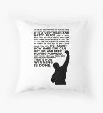 Rocky Motivation Floor Pillow
