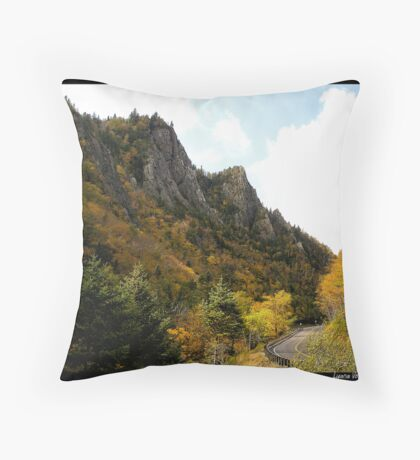Dixville Notch, New Hampshire Throw Pillow