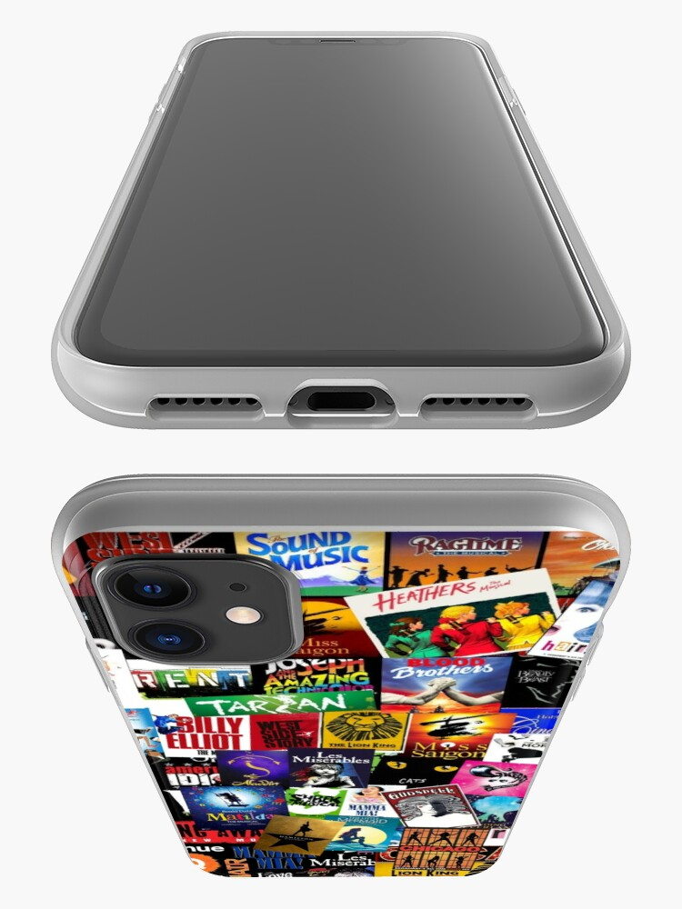 Alternate view of Musicals Collage II iPhone Case & Cover