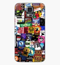 Musicals Collage II Hülle & Klebefolie für Samsung Galaxy