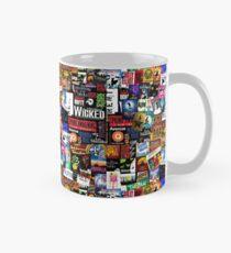 Musicals Collage II Classic Mug