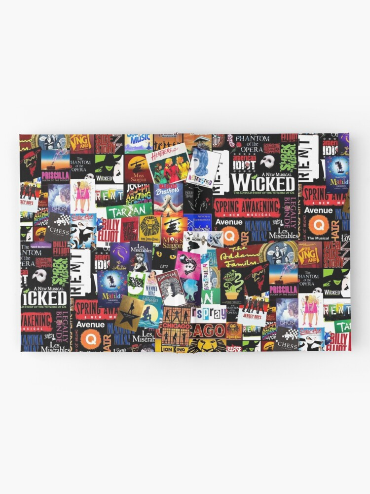Alternate view of Musicals Collage II Hardcover Journal