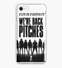 We're Back Pitches iPhone Case iPhone Case/Skin